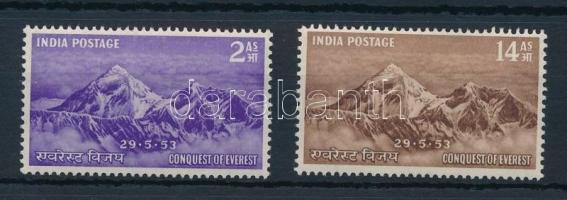 1953 Mounth Everest sor Mi 228-229