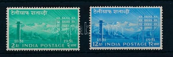 1953 Telegráf sor Mi 230-231
