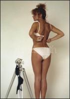 cca 1972 Fehérneműreklám, vintage negatívról készült mai nagyítás 25x18 cm-es fotópapírra