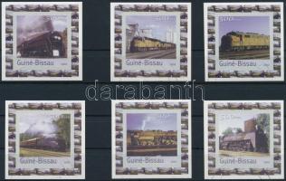 Guinea Bissau 2003 Vonatok 6 érték