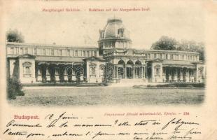 Budapest XIII. Margitszigeti fürdőház, Divald műintézet kiadása (EK)
