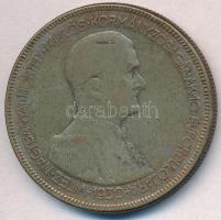 1930. 5P Ag Horthy jobbra T:3 patina Adamo P8