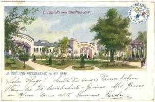 1898 Vienna, Wien; Jubilaums Ausstellung, Gartenbau und Landwirthschaft / horticultural and agricultural exposition (EK)