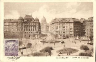 Budapest V. Szabadság tér, TCV card (EK)