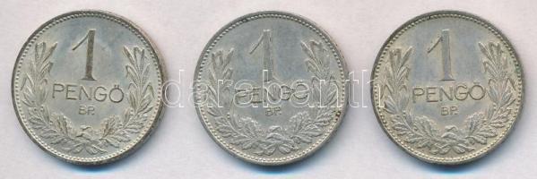 1939. 1P Ag (3x) T:2