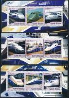 2001 TVG vonatok 3 klf 3-as kisív Mi 1854-1862