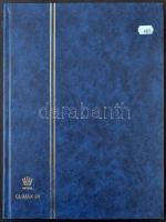 CLIMAX 24 fekete lapos A/4 luxus berakó kék borítóval
