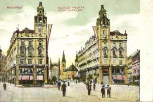 Budapest V. Klotild paloták, Zweiback üzlete, Schwarcz I. üzlete (felületi sérülés / surface damage)