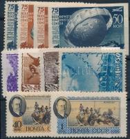 1948-1956 3 db klf kiadás Mi 1383-1384 A + B, 1246-1249, 1823-1824 (Mi EUR 46,-)