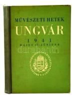 Művészeti hetek Ungvár, 1941 május 17. - június 8. Bp., 1941, Országos Irodalmi és Művészeti Tanács. Félvászon kötésben, jó állapotban.