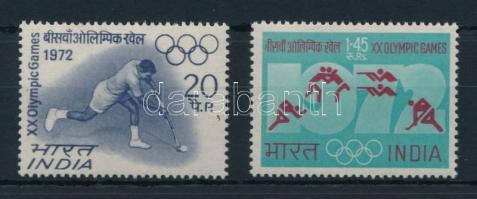 1972 Nyári olimpia sor Mi 538-539