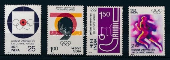 1976 Nyári olimpia sor Mi 680-683