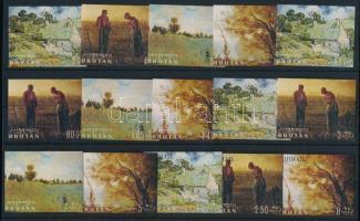 1968 Festmény sor Mi 217-232 (Mi 231 hiányzik / missing)