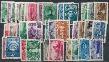 Szovjetunió 11 db sor az 1950-es évekből stecklapon (Mi EUR 185,-)