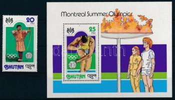 1978 Nyári olimpia Mi 720 A + blokk Mi 79 A