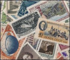 Szovjetunió 66 db klf bélyeg az 1950-es évekből tasakban ömlesztve