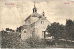 Fonyódfürdő, Kápolna, Tényi Lajos kiadása (EK)