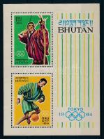 1964 Nyári olimpia blokk Mi 1 C