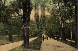 Keszthely, Balatoni fő út, park, Mérei Ignácz kiadása
