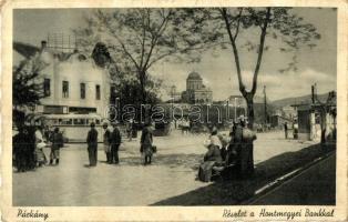Párkány, Stúrovo; Hontmegyei bank, autóbusz / bank, autobus (EK)