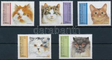 1995 Macskák sor Mi 1515-1519