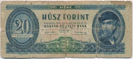 1947. 20Ft T:IV