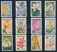 1990 Virág - Orchidea sor Mi 1266-1277