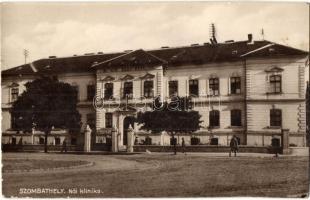 Szombathely, Női klinika, K. N. Sz. kiadása (EK)