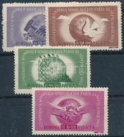 1945 Szakszervezet sor Mi 917-920 (Mi EUR 120,-)