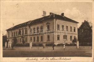 Szombathely, M. Kir. Állami Bábaképezde (ázott sarok / wet corner)