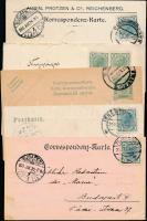 Ausztria 31 db levél és levelezőlap az 1900-as és az 1910-es évekből