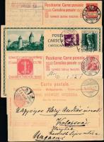 Svájc 8 db díjjegyes levelezőlap, képeslap és levél vegyes minőségben