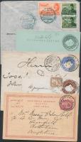 1890 5 db díjjegyes levelezőlap
