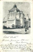 1898 Vienna, Wien; Jubilaums Ausstellung, Pavillon der Stadt Wien / exposition, pavilion of Vienna (fl)