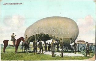 Luftschifferbataillon / WWI K.u.K airship troop, batallion, military field post (EK)