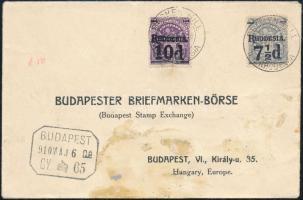 1910 Levél Budapestre küldve