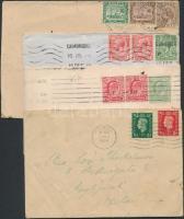 Nagy-Britannia, gyarmatok, tartományok 16 db levél, levelezőlapok vegyes minőségben