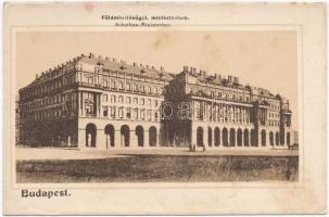 Budapest V. Földművelésügyi Minisztérium, 1916 IV. Károly király koronázása napján So. Stpl (ázott sarok / wet corner)