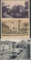Olasz gyarmatok: Triest, Líbia 4 db képeslap, 1 db levél, 1 db levelezőlap az 1900-as évekből