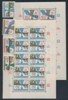 1979 UNESCO kisívsor + sor Mi 2512-2515