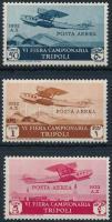 1931 Repülő értékek Mi 173-174, 176