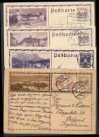 Ausztria 7 db díjjegyes levelezőlap az 1930-as évekből