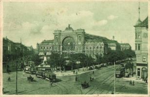 Budapest VII. Keleti pályaudvar, villamosok