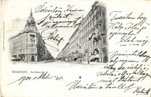 Budapest VI. Andrássy út, Kunstanstalt Stephan Tietze (EK)