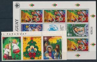 1981 Karácsony sor ívsarki hatoscsíkban + kisívben Mi 3467-3473