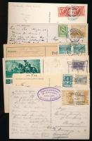 Ausztria 4 db képeslap + 2 db levelezőlap az 1930-as évekből