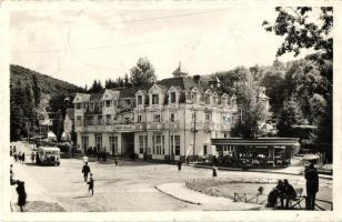 Szovátafürdő, Sovata; Fürdő szálló, étterem, Hangya üzlete / hotel, restaurant, shop