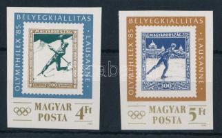 1985 Olimphilex vágott sor (2.500)