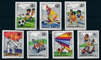 1985 Nemzetközi Ifjúsági Év vágott sor (3.200)