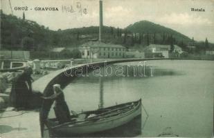 Gruz, Gravosa; port, boat (EK)